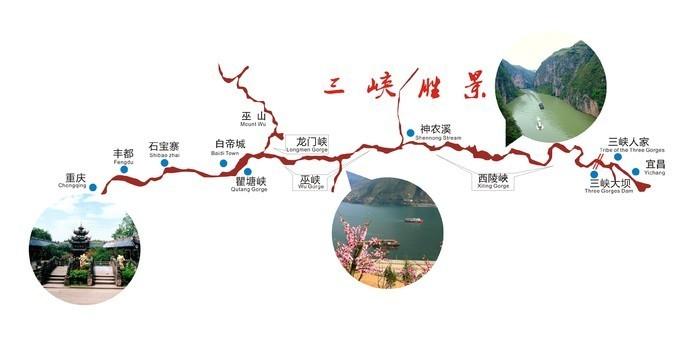 请问三峡游船从宜昌到重庆现在是多少钱